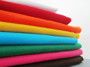 felt fabric ideal for kids and beginners starting to sew
