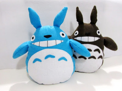 sew totoro free pattern and tutorial