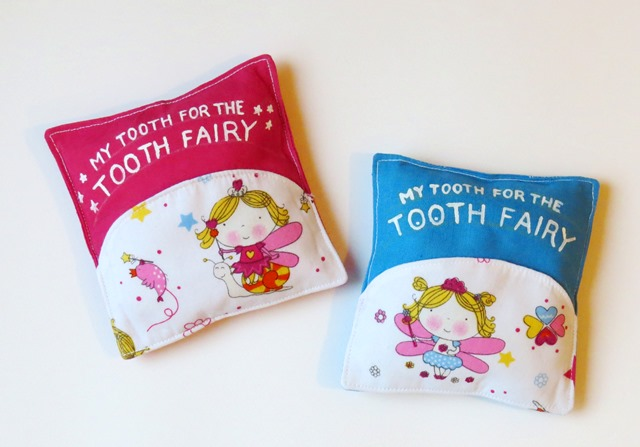 tooth fairy pillow free tutorial and pattern - step 7