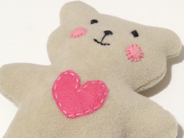 How To Sew Quickly A Cute Little Soft Baby Teddy Bear Sew Toy