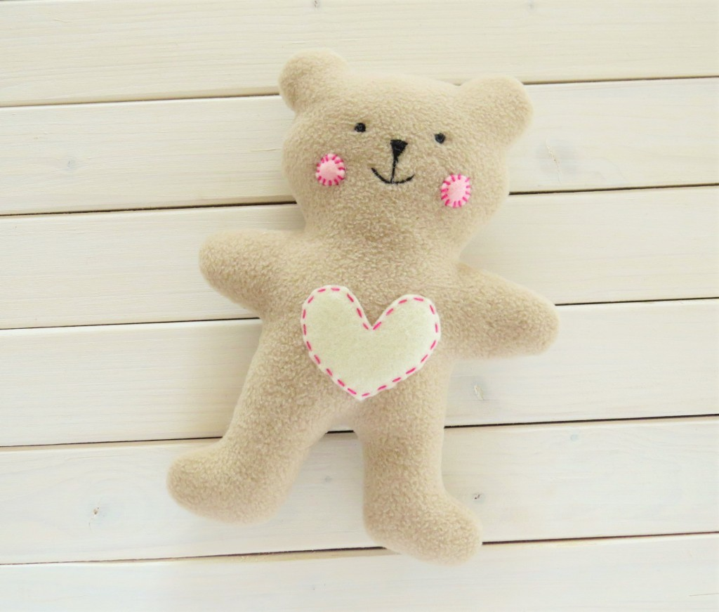 DIY Teddy bear baby toy
