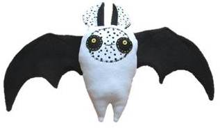bat toy sewing free pattern and tutorial