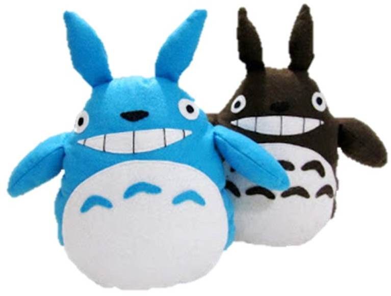 totoro toy sewing free pattern and tutorial