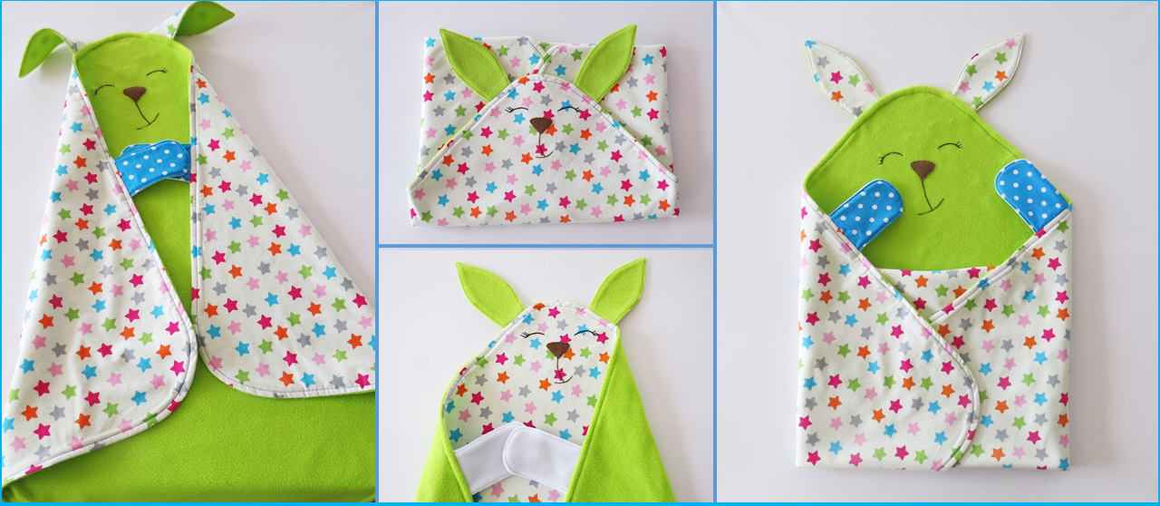 Cute And Colorful Baby Blanket And Toy All In One Sew Toy