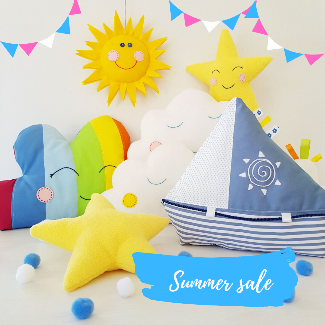 Easy and cute soft toy patterns - summer sale 30% off till end of July 2020